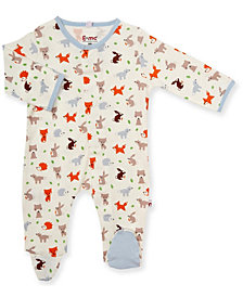 Baby Boy Origami Critters Magnetic  Footie