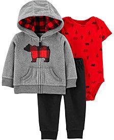Carter's Baby Boy 3-Piece Bear Little Jacket Set