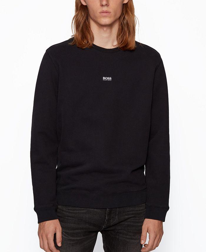 Hugo Boss - Men's Weevo Relaxed-Fit Sweatshirt