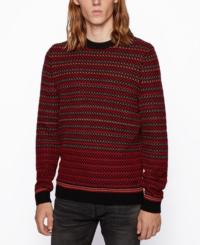Hugo Boss - Men's Acree Regular-Fit Sweater