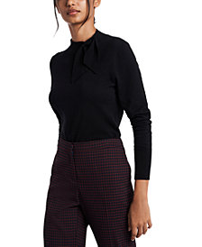 Riley & Rae Blair Tie-Neck Sweater, Created for Macy's