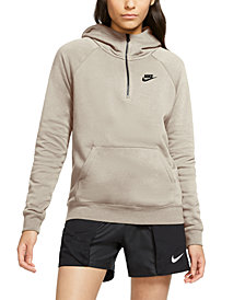 Nike Women's Zip-Front French Terry Hoodie