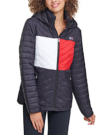 Tommy Hilfiger Sport Colorblocked Puffer Jacket