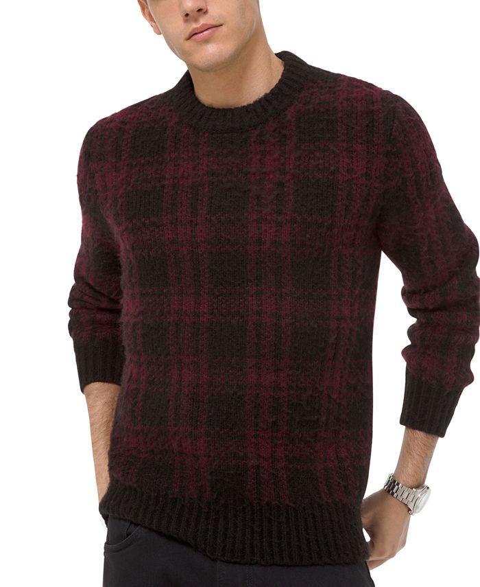 Michael Kors - Men's Buffalo Check Sweater