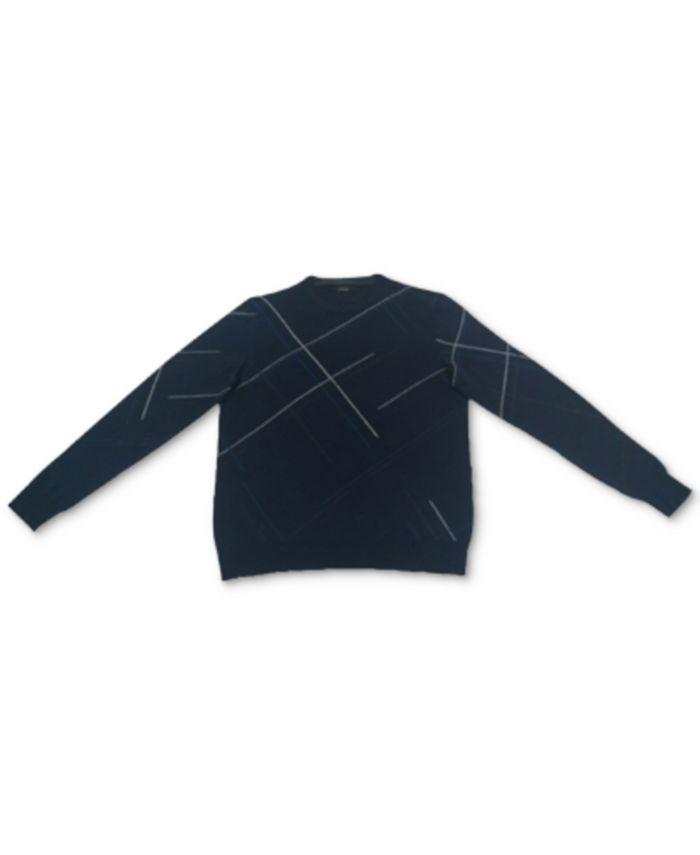 Alfani - Men's Crosshatch Sweater