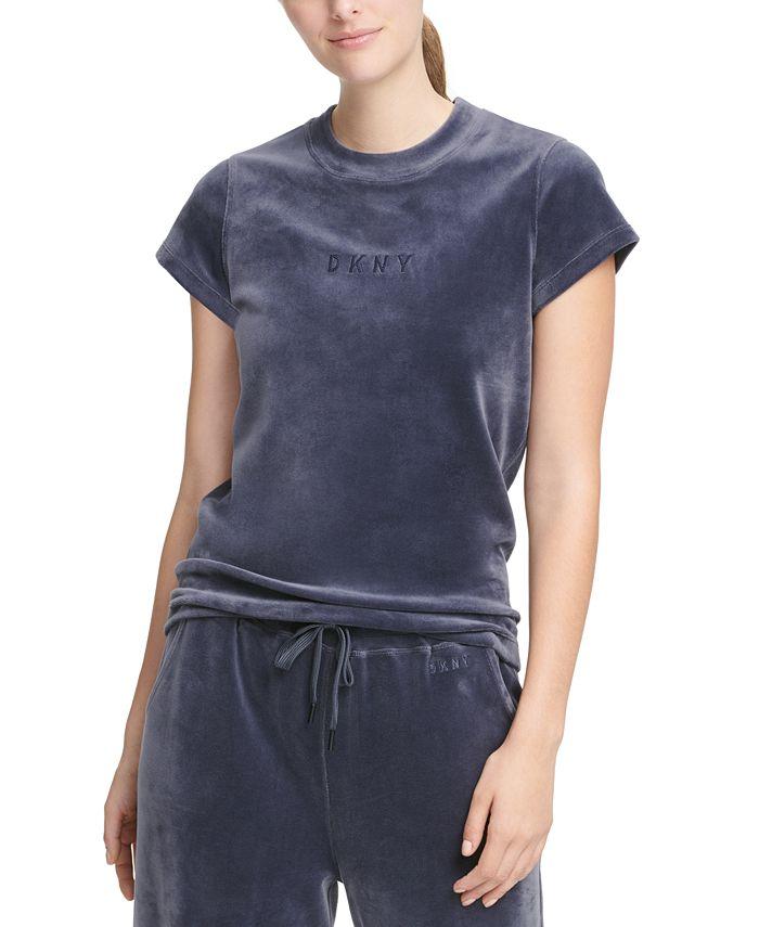 DKNY - Velour Logo T-Shirt