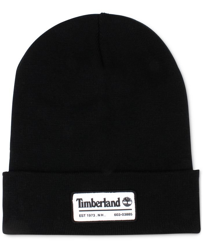 Timberland - Men's Slouch Patch Logo Beanie