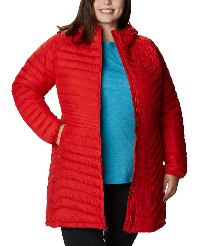 Columbia - Plus Size Quilted Midi Jacket