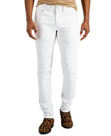 INC Men's Skinny Moto 1 Jeans, Created for Macy's
