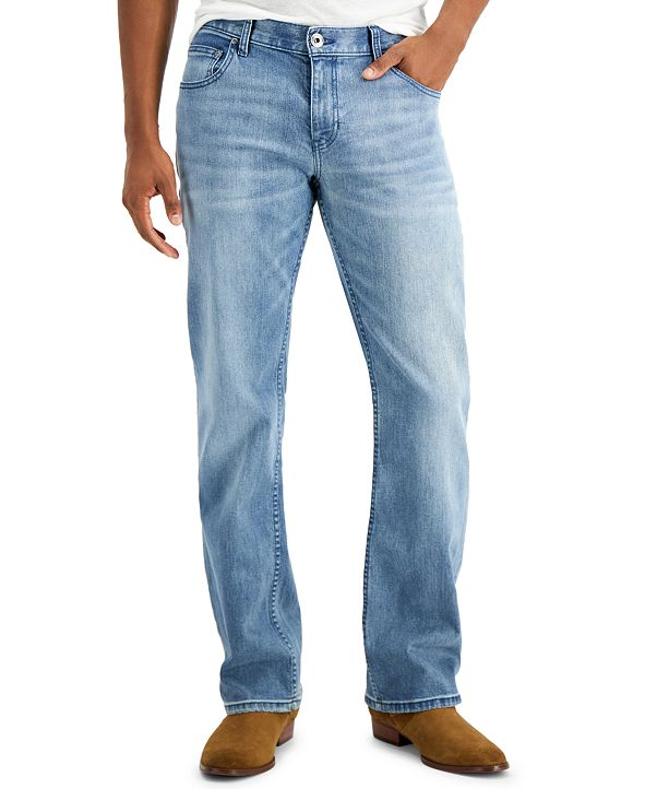 INC International Concepts INC Men's Rockford Boot Cut Jeans, Created for Macy's