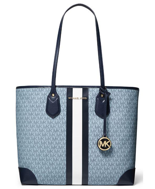 Michael kors Jet Set Travel Double Zip Saffiano Leather Wristlet Wallet (Blossom), Medium