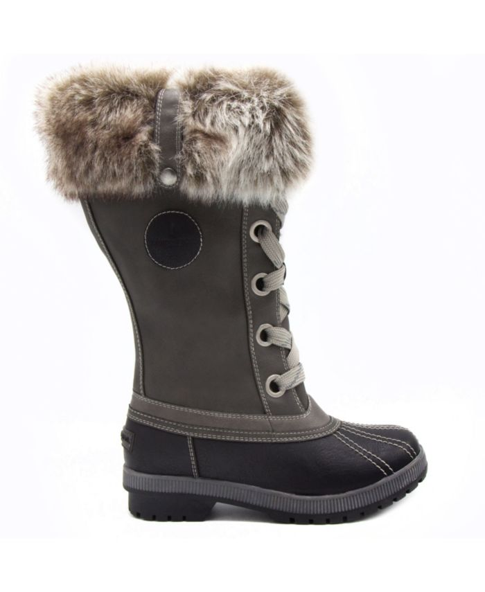 London Fog Women's Melton 2 Cold Weather Tall Boot & Reviews - Boots - Shoes - Macy's