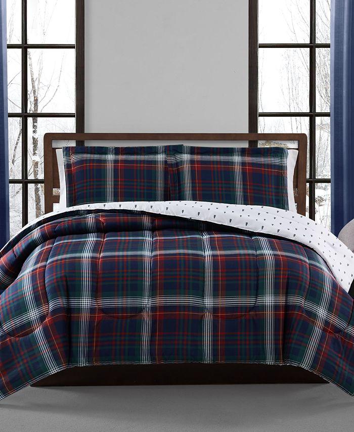 Pem America - Holiday Plaid 3-Pc. Comforter Set