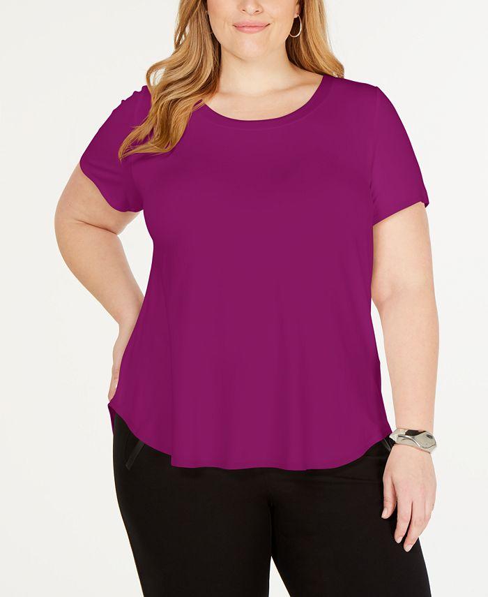 Alfani - Plus Size Short-Sleeve T-Shirt