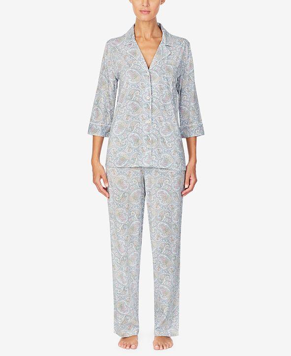 Lauren Ralph Lauren Printed Pajama Set