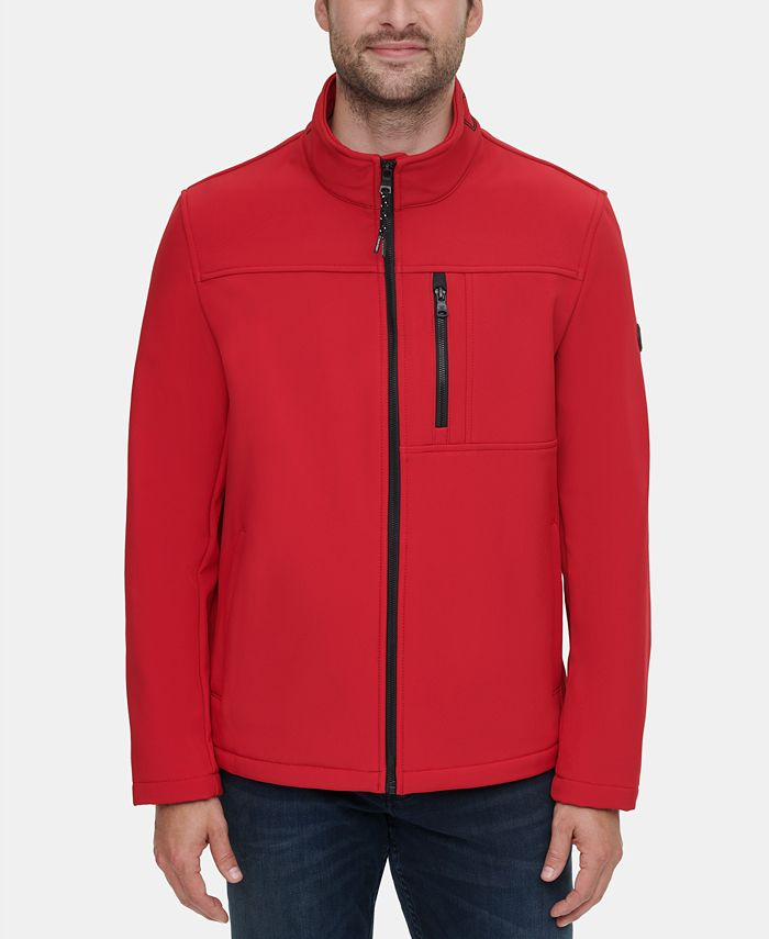 Calvin Klein - Men's Soft Shell Open Bottom Jacket