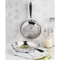 Deals on Belgique Stainless Steel Fry Pans, Set of 2