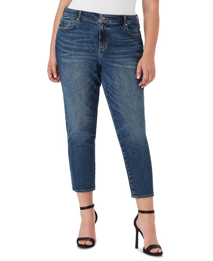 WILLIAM RAST - Trendy Plus Size Sweet Mama Skinny Ankle Jeans
