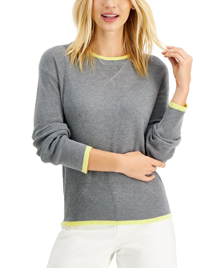 Style & Co - Tipped Thermal Top
