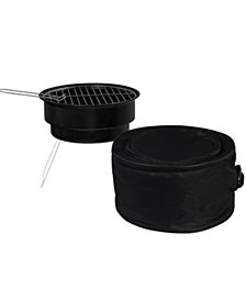 Studio Mercantile Travel Cool-Cook Grill & Cooler Combo