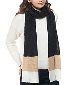 Style & Co Rib Striped Muffler Scarf, Created for Macy's
