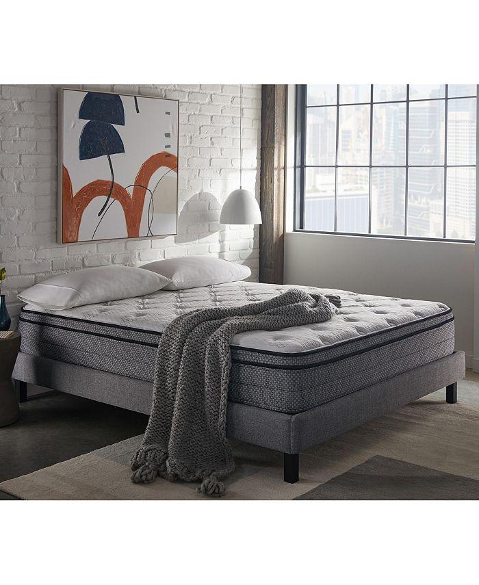 "Corsicana - SleepInc 12"" Cushion Firm Hybrid Euro Top Mattress- Twin"