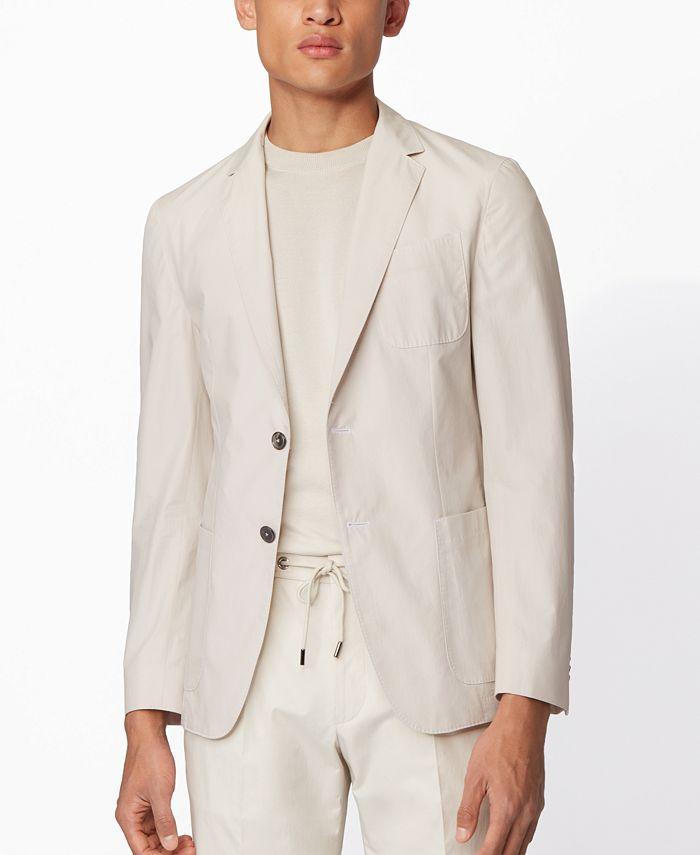Hugo Boss - Men's Nolvay Slim-Fit Jacket