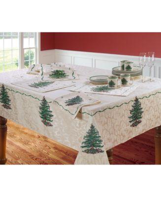 Christmas Tree Ivory/Green 90