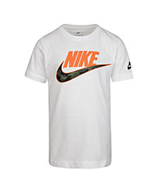 Nike Toddler Boys Swoosh Logo Graphic T-Shirt
