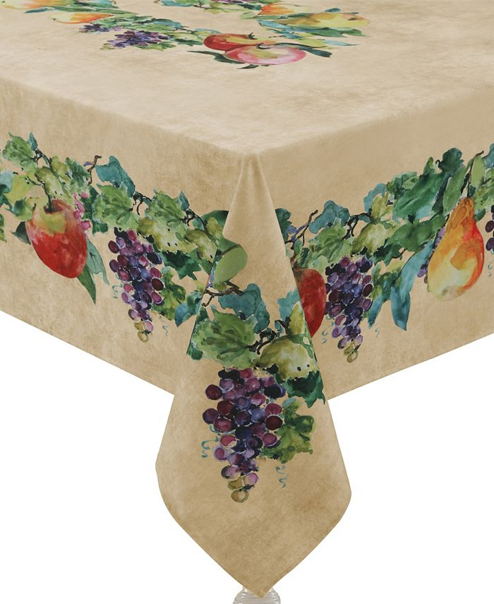 Laural Home - Palermo 70x84 Tablecloth