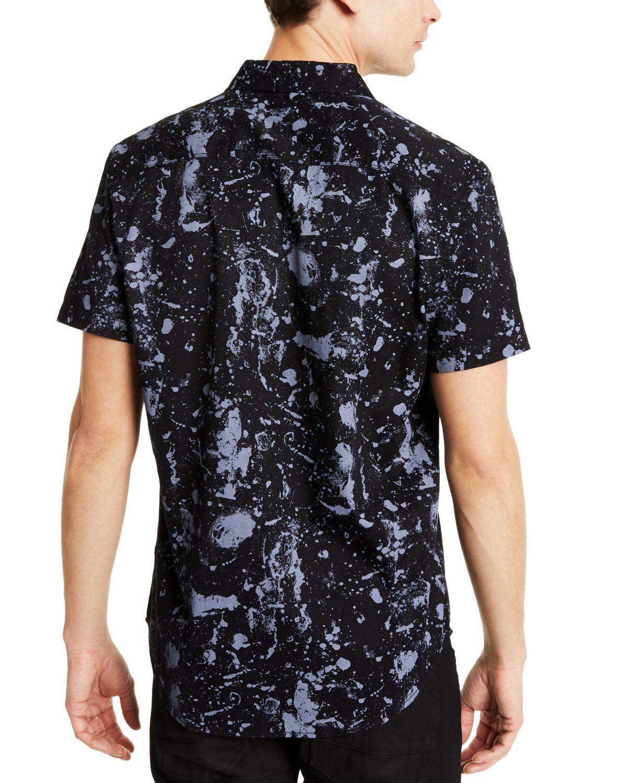 INC International Concepts INC Men's Paint Splatter Shirt, Created for Macy's & Reviews - Casual Button-Down Shirts - Men - Macy's