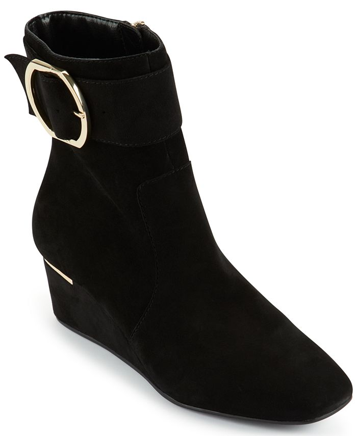 DKNY - Women's Lucy Buckled Booties