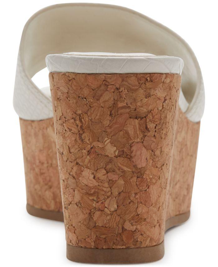 DKNY Cutie Wedge Sandals & Reviews - Sandals - Shoes - Macy's