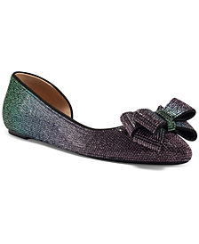 INC Women's Maiyana Evening Bow Flats, Created for Macy's