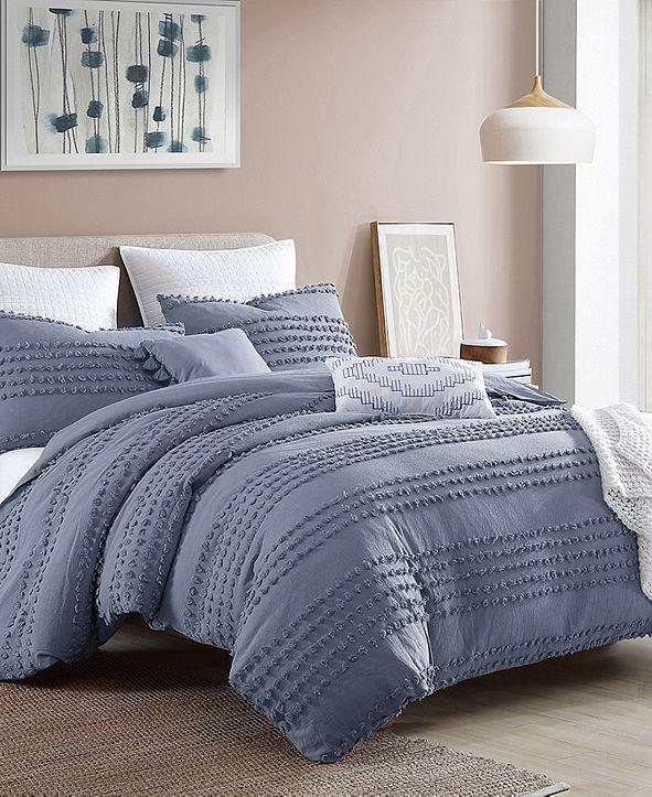 Swift Home Magnificent Marilla Dot 5 Piece Comforter Set, King/California King