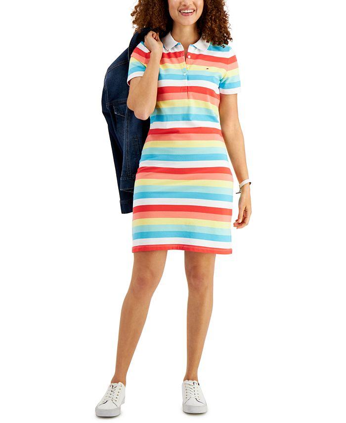 Tommy Hilfiger - Striped Polo Dress