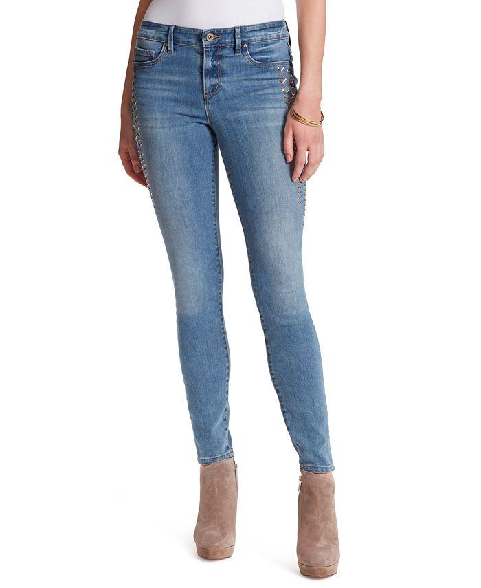 Jessica Simpson - Kiss Me Stud-Detail Skinny Jeans