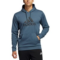 Deals on Adidas Mens Badge of Sport Game and Go Pullover Hoodie
