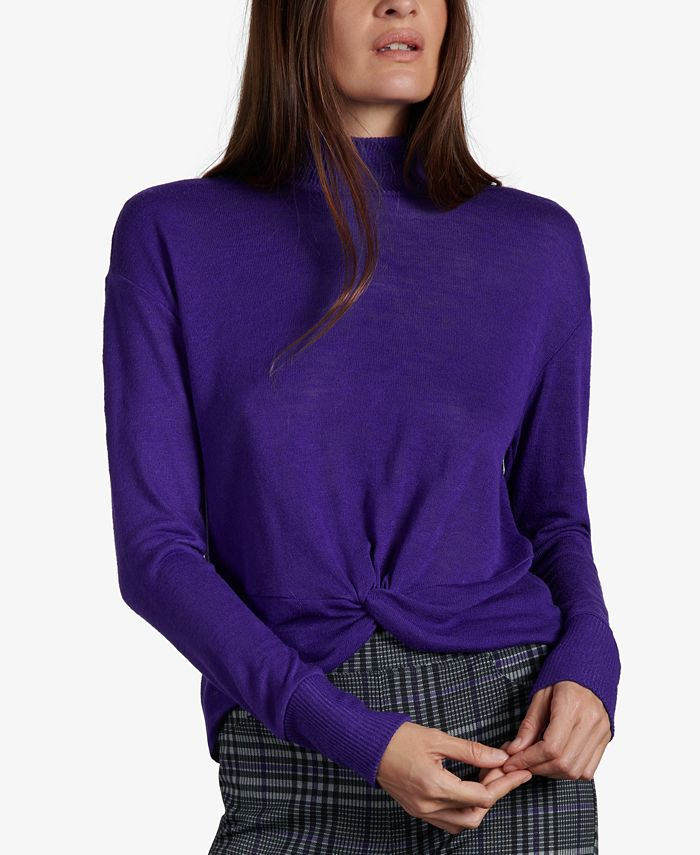Sanctuary - Ready Or Knot Twist-Front Top