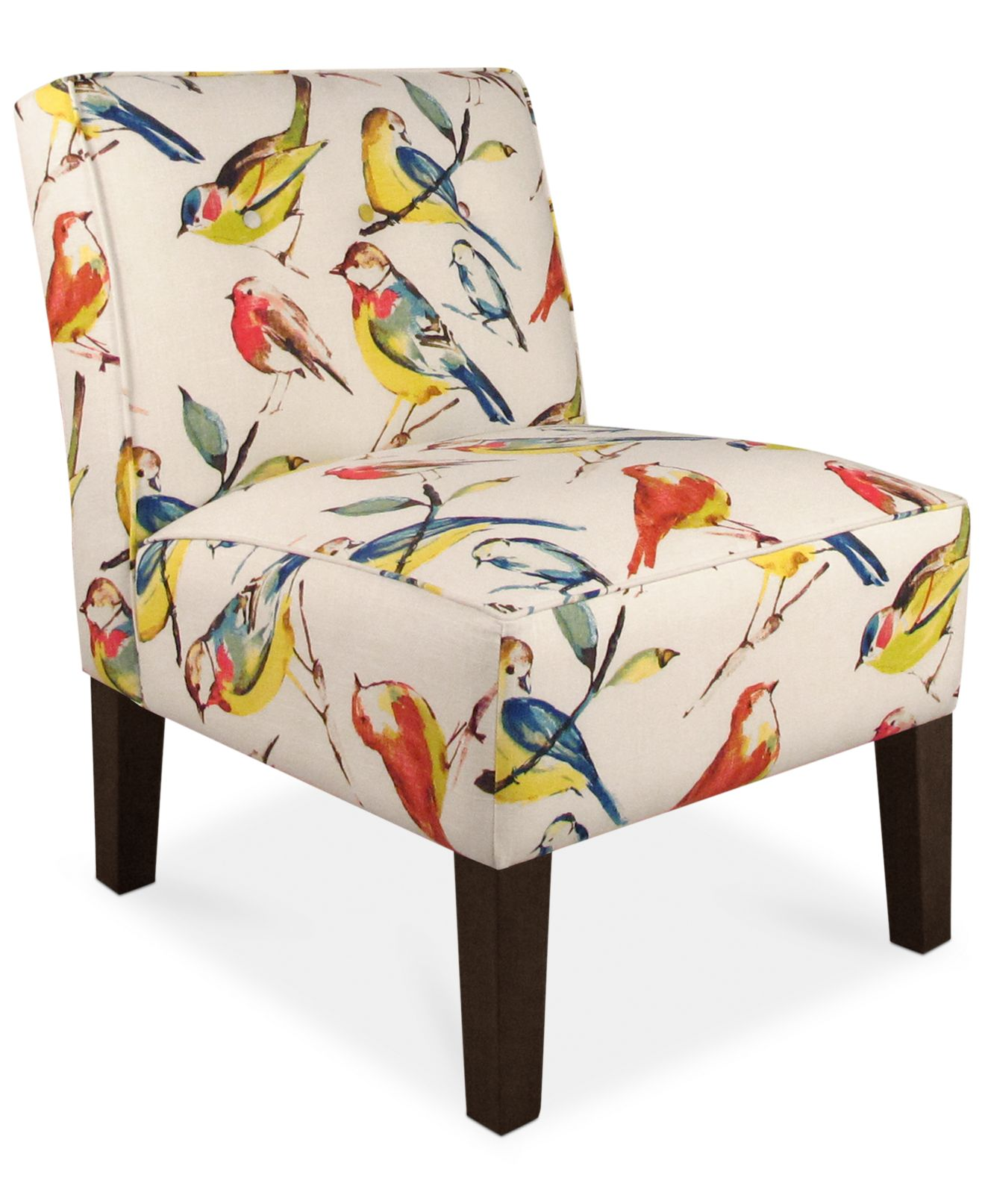 Bird Fabric Chair Calabasas Bird Watcher Fabric