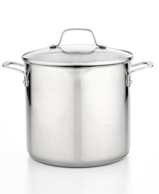Calphalon Classic Stainless Steel 8 Qt. Covered Stockpot