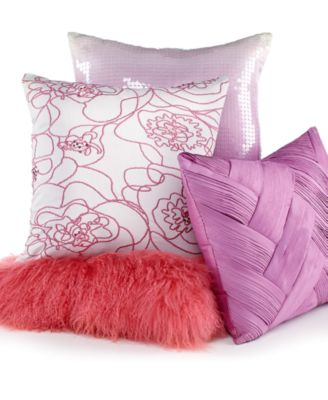 "CLOSEOUT! INC International Concepts Lola 18"" Square Decorative Pillow"
