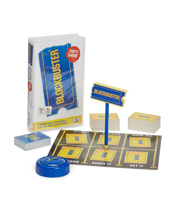 Spin Master Toys & Games Spin master Games The Blockbuster Game: A Movie Party Game for the Whole Family