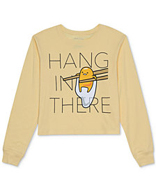 Love Tribe Juniors' Hang in There Long-Sleeve T-Shirt