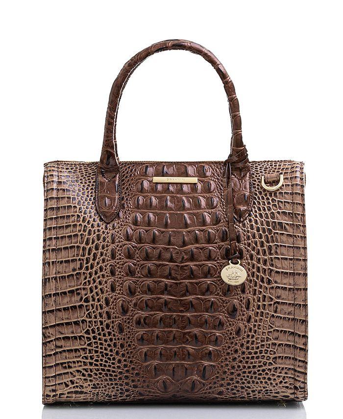 Brahmin - Caroline Melbourne Embossed Leather Satchel