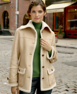 Larry Levine Faux-Shearling Jacket