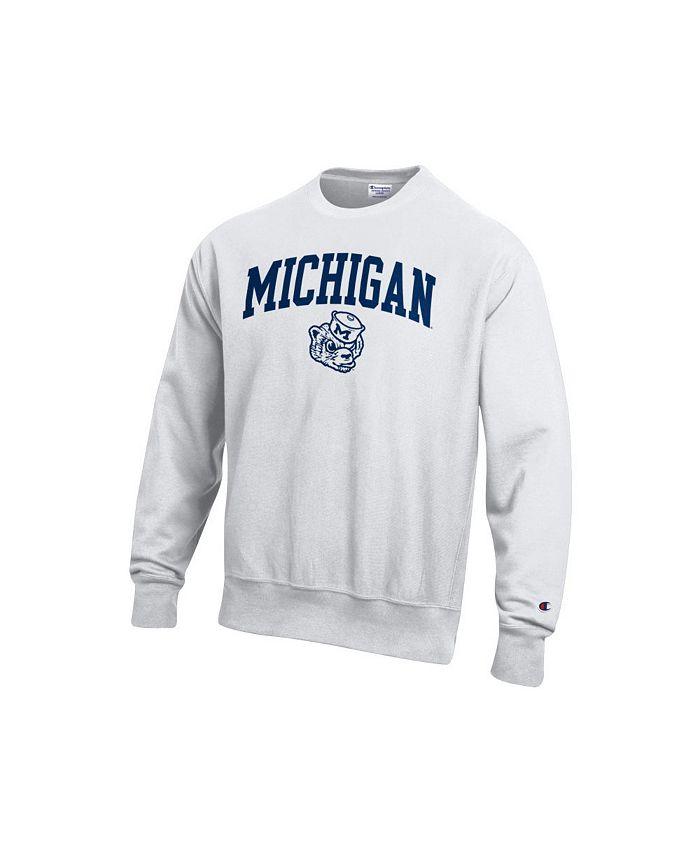 Champion - Wolverines Men's Vault Reverse Weave Sweatshirt