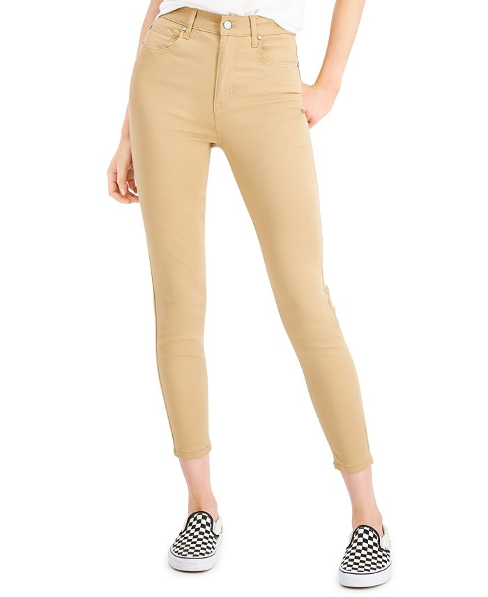 Celebrity Pink - Juniors' High-Rise Skinny Jeans