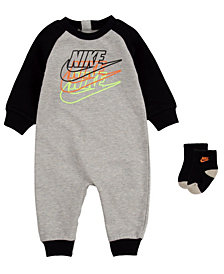Nike Baby Boys Futura Coverall Sock Set