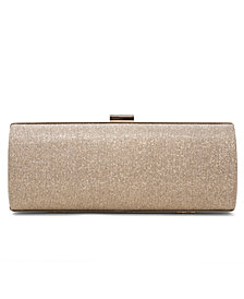 INC Betti Lurex Sparkle Clutch, Created for Macy's